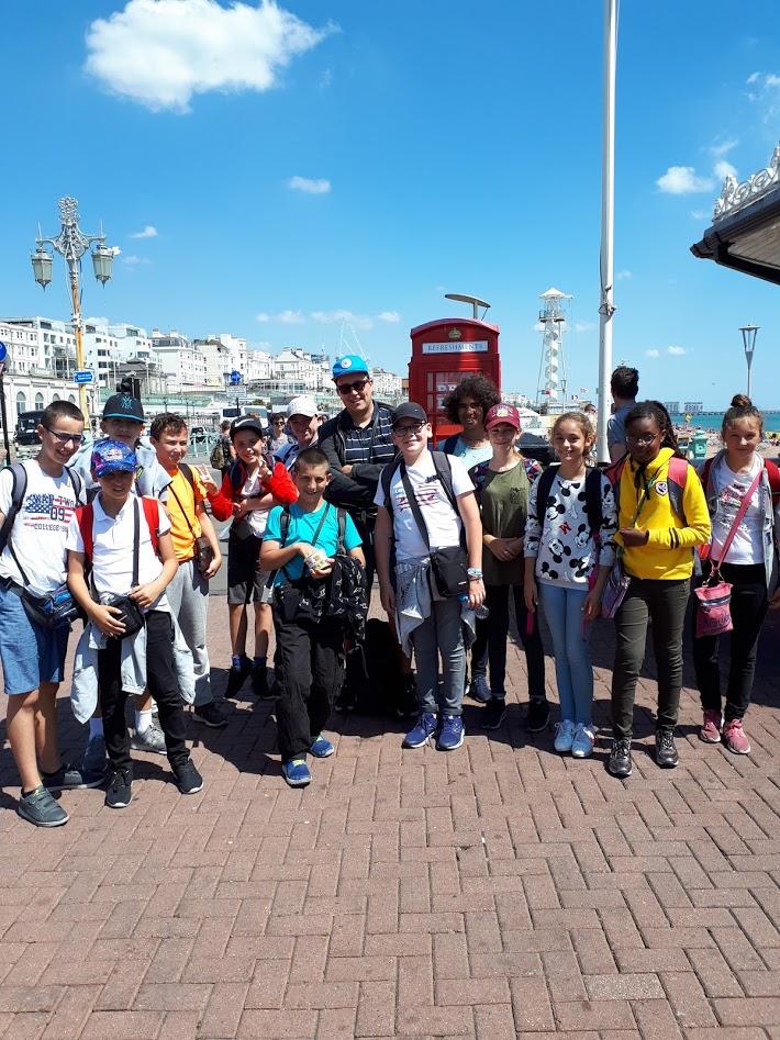 voyage college Notre Dame du Bon Conseil Angleterre