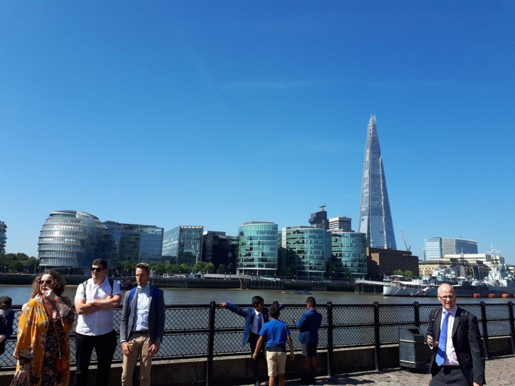 voyage college Notre Dame du Bon Conseil à Londres